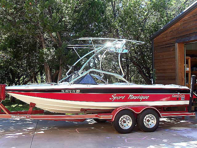 1991 Sport Nautique boat wakeboard tower