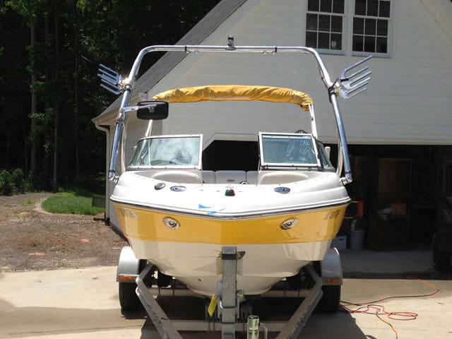 2008 Chaparral 190 ssi boat wakeboard tower