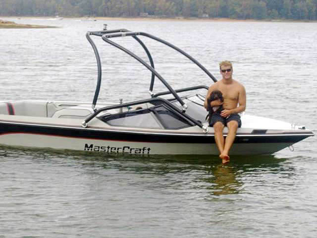 Airborne Tower ski tower Installed on 1987 Mastercraft Prostar 190 Boat
