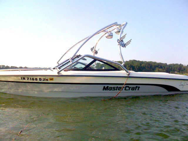 Airborne Tower ski tower Installed on MasterCraft ProStar 205 Sammy Duvall Edition Boat
