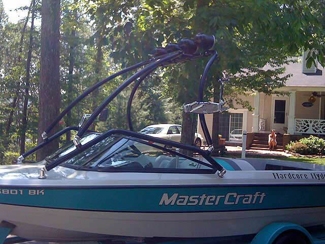 wakeboard tower for MasterCraft boats