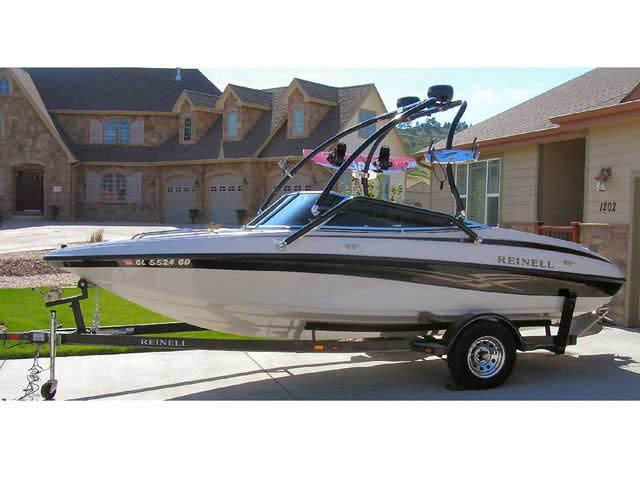 wakeboard tower for 2005 Reinell 191 boat reviewed 07/30/2010