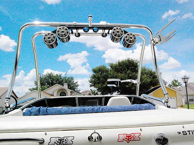 1999 Stingray 190lx boat wakeboard tower