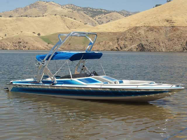 1987 ELIMINATOR boat wakeboard tower
