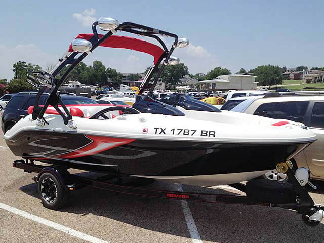 1997, Seadoo Challenger 1800 boat wakeboard tower