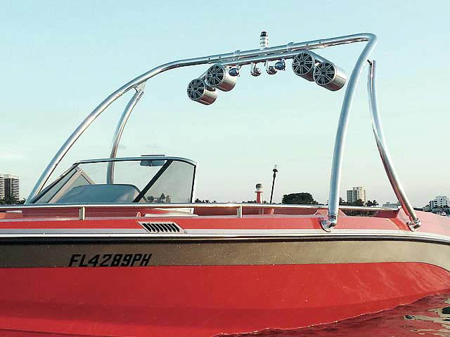 "1989 Mastercraft Tristar 22""   tower"