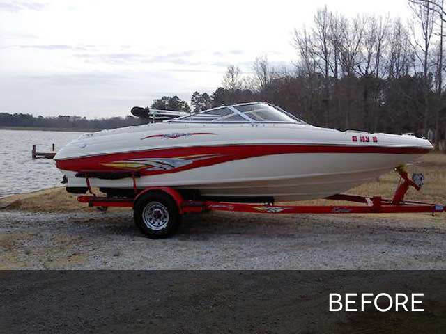 2004 Rinker 192  boat wakeboard tower