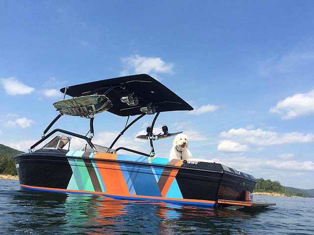 1983 Supra Rider boat wakeboard towers