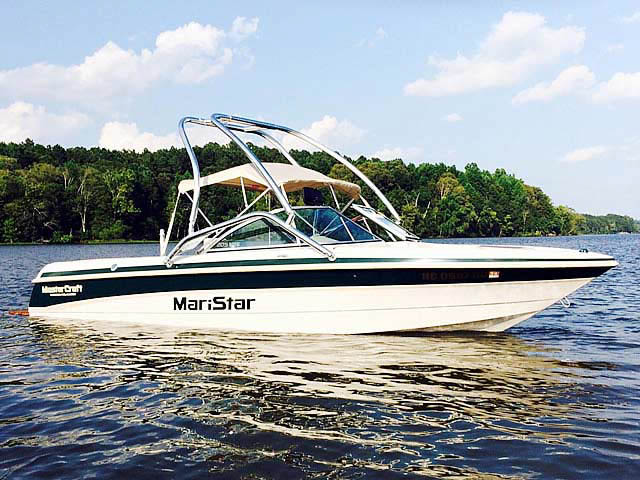 wakeboard towers for 1999, MasterCraft Maristar 205 VRS boats using Aerial Airborne Tower