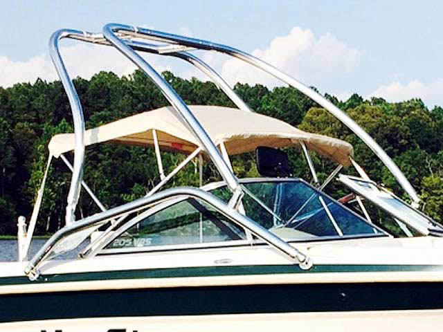 Airborne Tower ski tower Installed on 1999, MasterCraft Maristar 205 VRS Boat