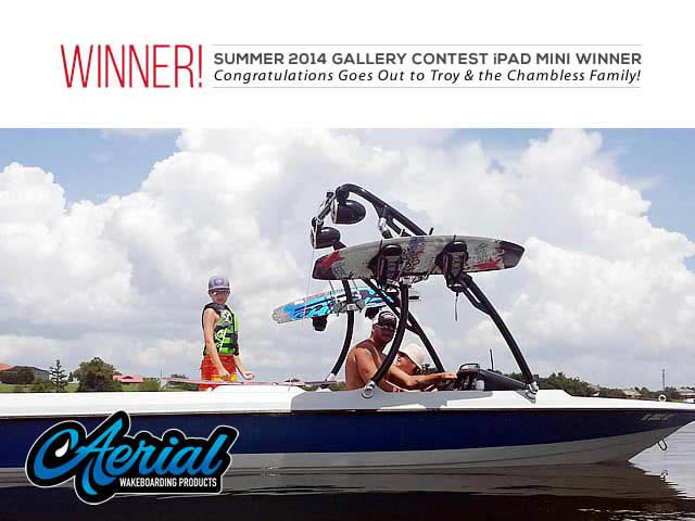 1991 Mastercraft Prostar 190 wakeboard Ascent Tower 99754-1