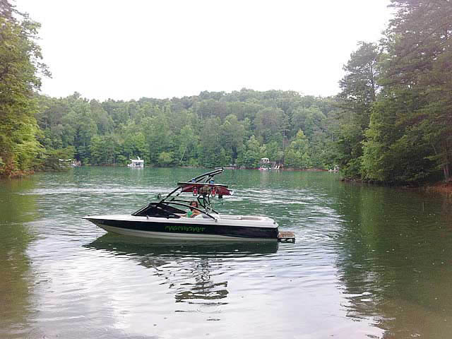 wakeboard towers for 1991 MasterCraft ProStar 190 boats using Aerial Assault Tower